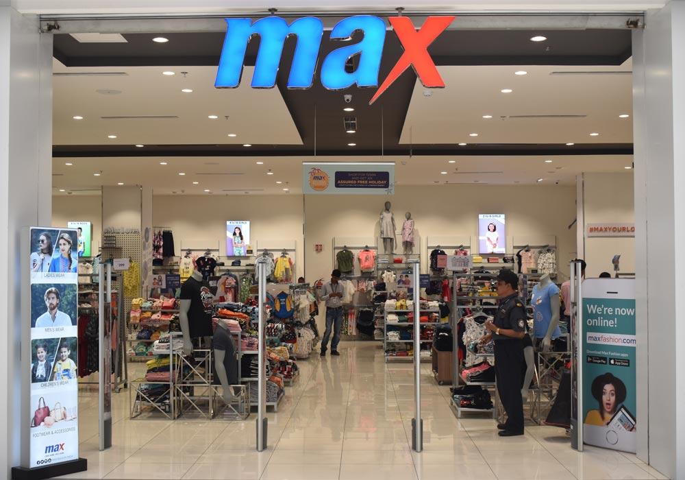 Max Fashion Udaipur – Clothing Store in Udaipur, Rajasthan