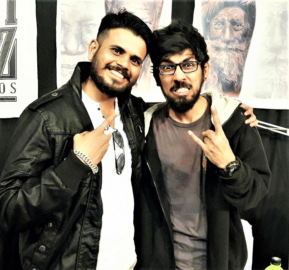 Mr. Rajveer Singh - Inkrider Tattoo Studio Owner/artist