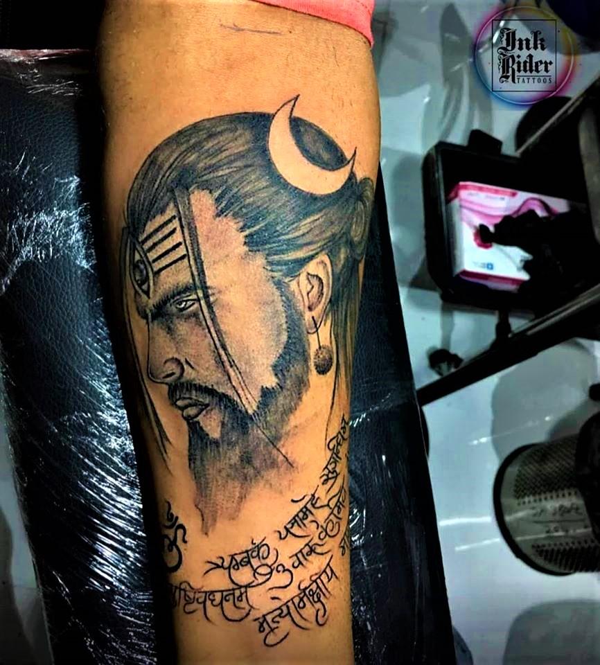 Mahamrityunjay Tattoo by Rajveer Singh