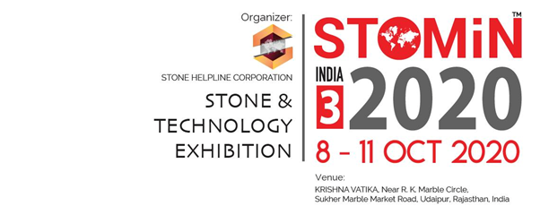 STOMIN INDIA is a stone and technology exhibition Udaipur