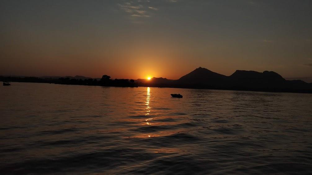 The Fateh Sagar Lake