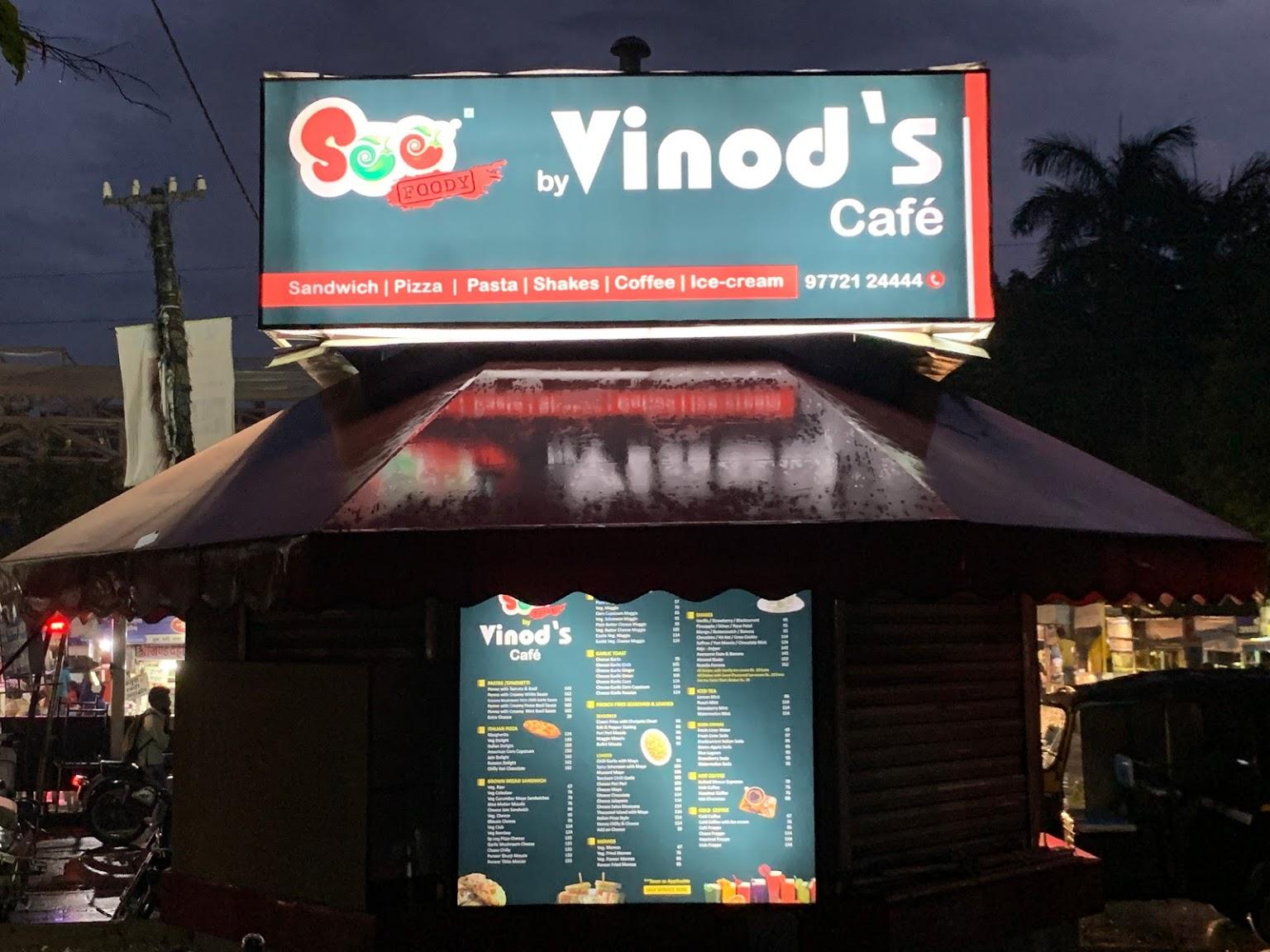 Vinod Fast Food & Multi-Cuisine Café Udaipur