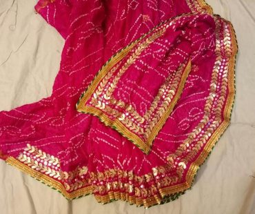 Udaipur Bandhej (Bandhani) – A Saree that is World Famous