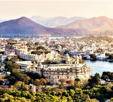 Udaipur City Video - Aerial View of Udaipur from Drone